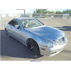 2003 - MERCEDES BENZ CL500