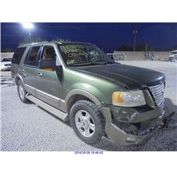 2003 - FORD EXPEDITION // SALVAGE TITLE