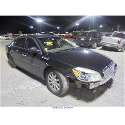 2009 - BUICK LUCERNE // SALVAGE TITLE DAMAGED