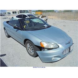2002 - CHRYSLER SEBRING