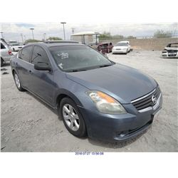 2008 - NISSAN ALTIMA // SALVAGE TITLE