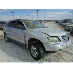 2005 - CHRYSLER PACIFICA // REBUILT SALVAGE