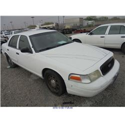 2008 - FORD CROWN VICTORIA  // TEXAS TITLE