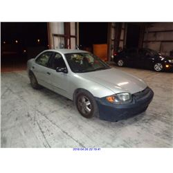 2004 - CHEVROLET CAVALIER // RESTORED SALVAGE