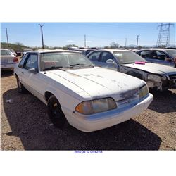 1993 - FORD MUSTANG