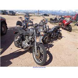 1983 - YAMAHA MOTORCYCLE