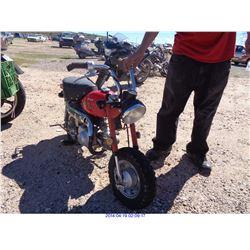1997 - JINTO MOTORCYCLE