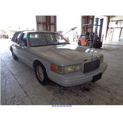 1993 - LINCOLN TOWN CAR