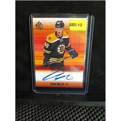 COLIN MILLER 2015-16 SP SIGN OF THE TIMES ROOKIES AUTOGRAPH 092/299