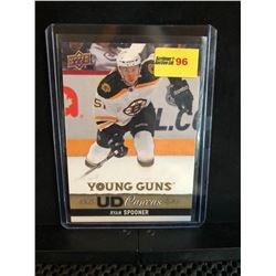 RYAN SPOONER 2013-14 UD YOUNG GUNS CANVAS SERIES 1