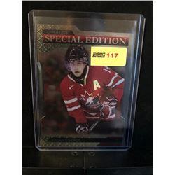 JORDAN EBERLE 2013 UD TEAM CANADA SPECIAL EDITION GOLD DIE CUT