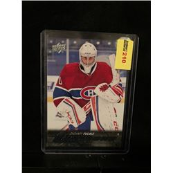ZACHARY FUCALE 2015-16 UD YOUNG GUNS SERIES 2