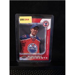 CONNOR McDAVID 2016 UD NHCD MEMORABLE MOMENTS SPECIAL INSERT-#16