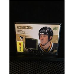 MARIO LEMIEUX 2014-15 TRILOGY TRYPTICHS JERSEY 249/250