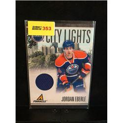 JORDAN EBERLE 2011 PANINI CITY LIGHTS GAME WORN 007/499
