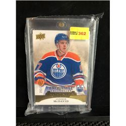 CONNOR McDAVID 2016 EXQUISITE COLLECTION ROOKIES 292/299