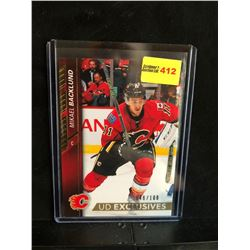 MIKAEL BACKLUND 2015-16 UD EXCLUSIVES 046/100 SERIES 2