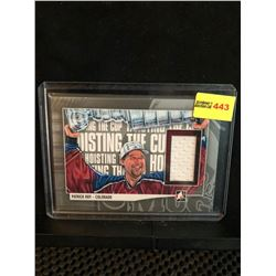 PATRICK ROY 2014 ITG HOISTING THE CUP GAME WORN JERSEY