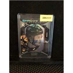 ANDERS BJORK 2017-18 SPX SHADOW BOX ROOKIES AUTOGRAPH 067/148