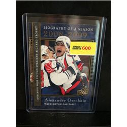 ALEXANDER OVECHKIN 2008-09 BIOGRAPHY OF A SEASON