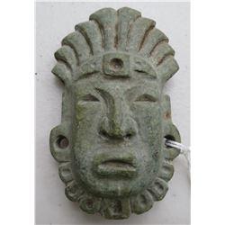 Mayan Green Stone Mask