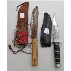 2 Hunting Knives