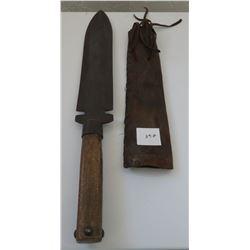 Dag Knife w/Square-Bottom Sheath