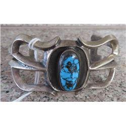 Sandcast Silver Bracelet