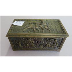 French Brass Box