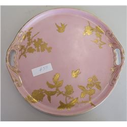 Antique Gilded Charger
