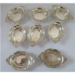8-Pc. Gorham Sterling Nut Cups