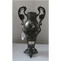 Art Nouveau Spelter Sculpture
