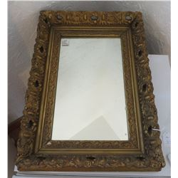 Mirror w/Ornate Frame