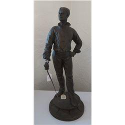 Swordsman Figure Spelter