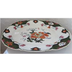 Large Handpainted Service Platter