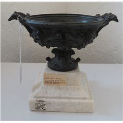 Imperial Roman Empire-style Goblet on Marble