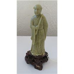 Soapstone Japanese Priest