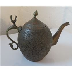 Middle Eastern Bronze Teapot