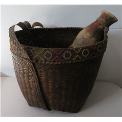 Beaded Burden Basket