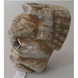 Seated Stone Figure