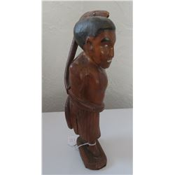 Polynesian Human Carving