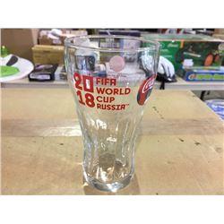 Case of Coca Cola commemorative Fifa world cup glasses