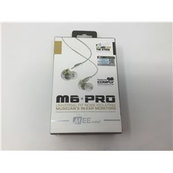 M6 Pro Universal-Fit Noise Isolating Musician's In-Ear Monitors