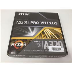 MSI RyzenA320 AM4 Socket Mini-Atx Motherboard