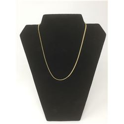14kt G.P. Herringbone Necklace