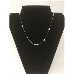 14ktG.P Necklace w/ Freshwater Pearls