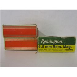 6.5MM REM MAG AND 6.5X53R AMMUNITION