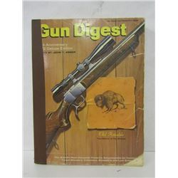 GUN DIGESTS AND ONE BOOK ON USED GUNS