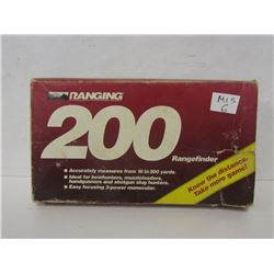 RANGING 200 RANGE FINDER