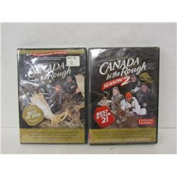 CANADA IN THE ROUGH DVD'S